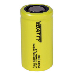 CR 123a (RCR) rechargeable...
