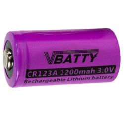 CR123A battery case box...